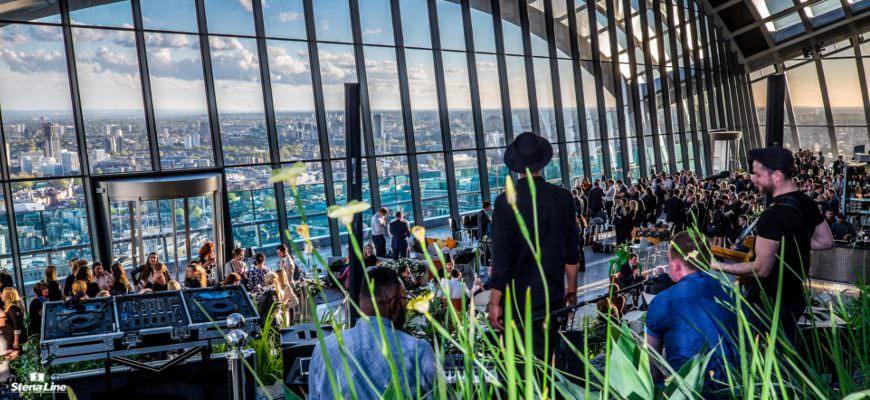 Sky Garden Londen rooftopbar