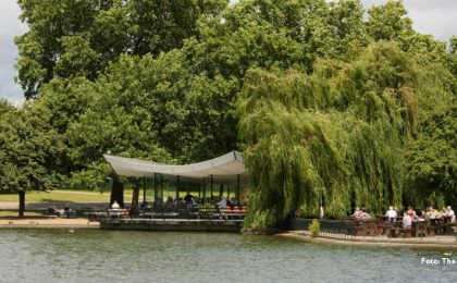 The Serpentine Bar en Kitchen in Hyde Park Londen