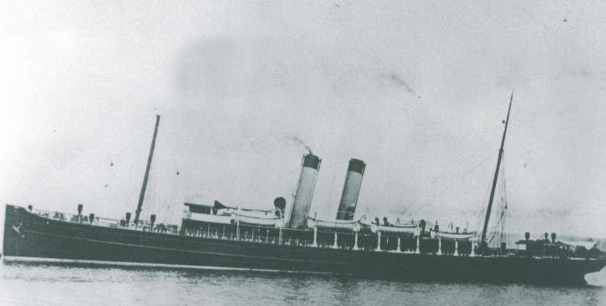 ss Amsterdam in 1894