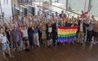 Stena Line partner van Europride