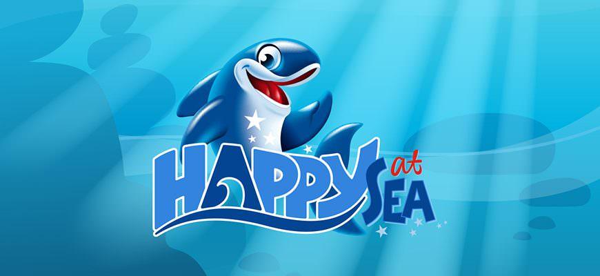 Happy op zee
