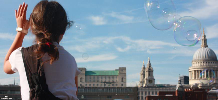 Kind in Londen