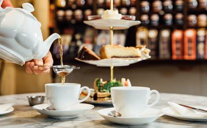 Afternoon tea in Engeland
