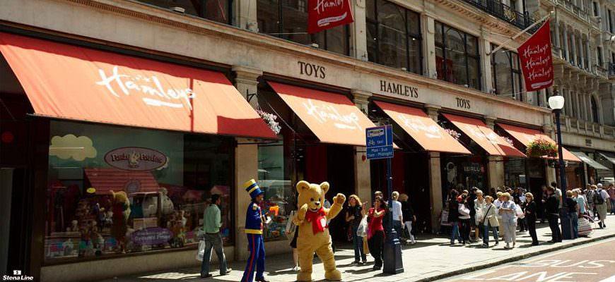 Hamleys speelgoedwinkel Londen