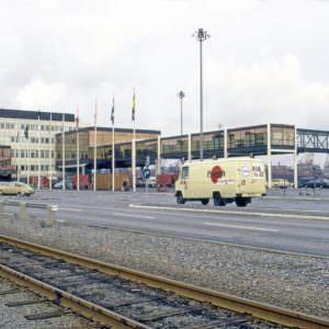 Masthuggs terminal te Göteborg in oktober 1974