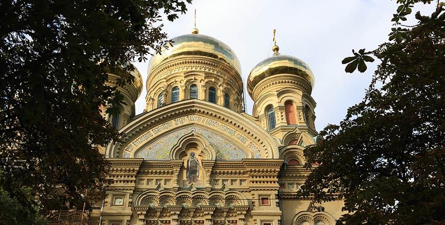 Sint-Nicolaaskathedraal in Liepāja