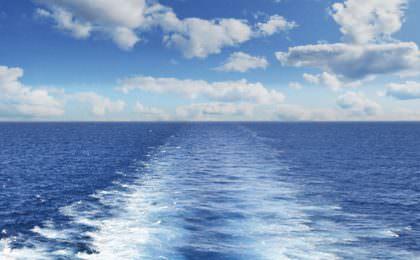 Zeezicht vanaf Stena Line ferry