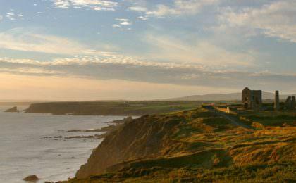 Copper Coast kustlijn in Waterford