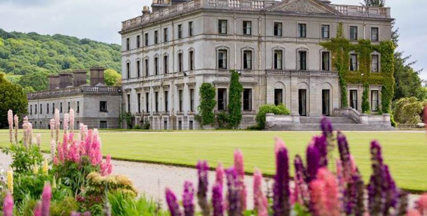 Curraghmore House en Gardens in Ierland