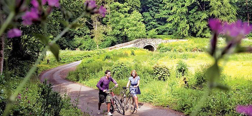 Wandelen en fietsen in Engeland