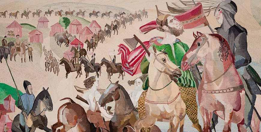 The Ross Tapestries borduur tentoonstelling