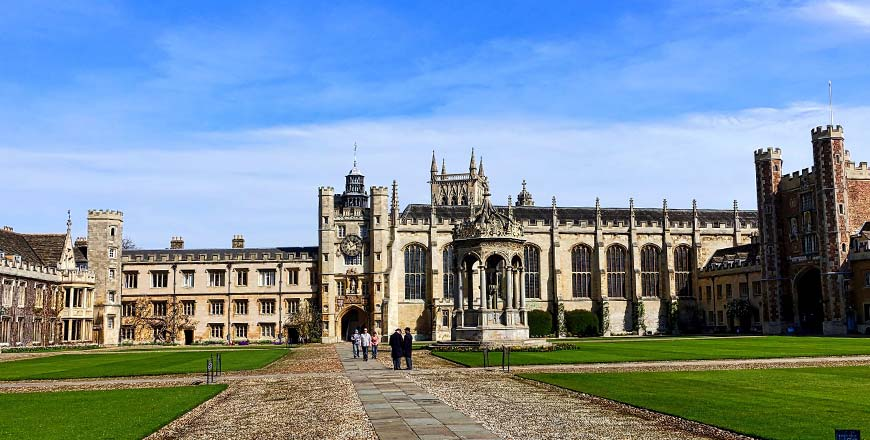 Universiteit van Cambridge in Trinity college