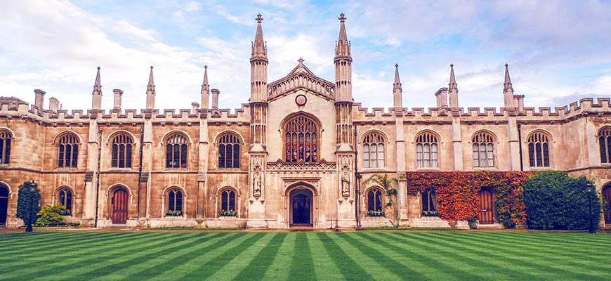 Wandelen door Cambridge
