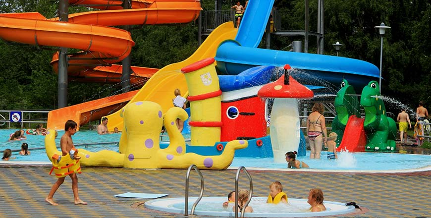Beach Waterpark in Ventspils
