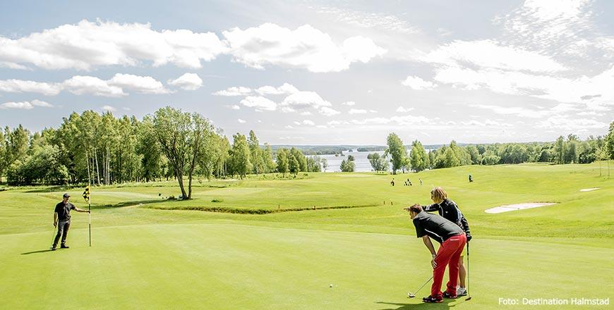 Golfbaan in Halmstad - Foto Destination Halmstad