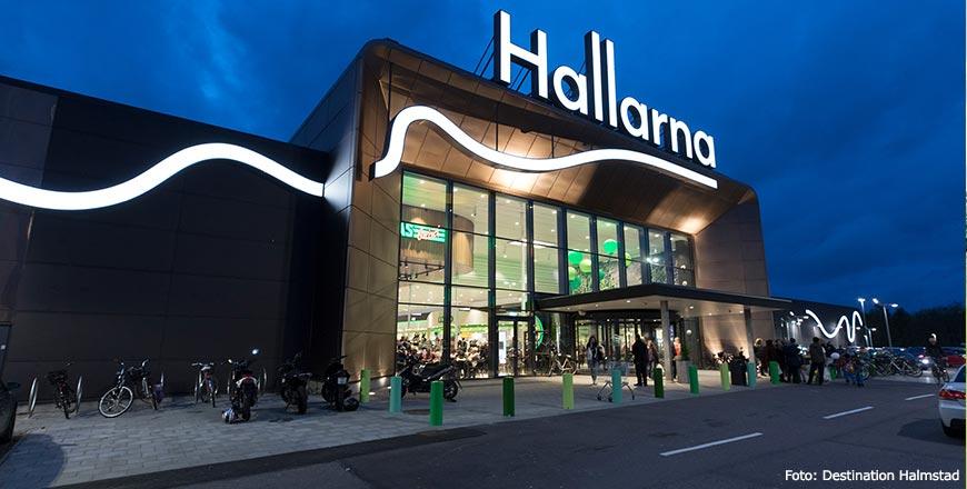 Hallarna winkelcentrum in Halmstad - Foto Destination Halmstad