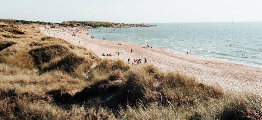 Tylösand strand bij Halmstad