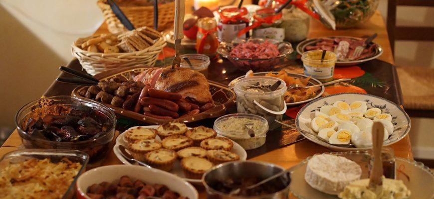Julbord-kerst-tafel
